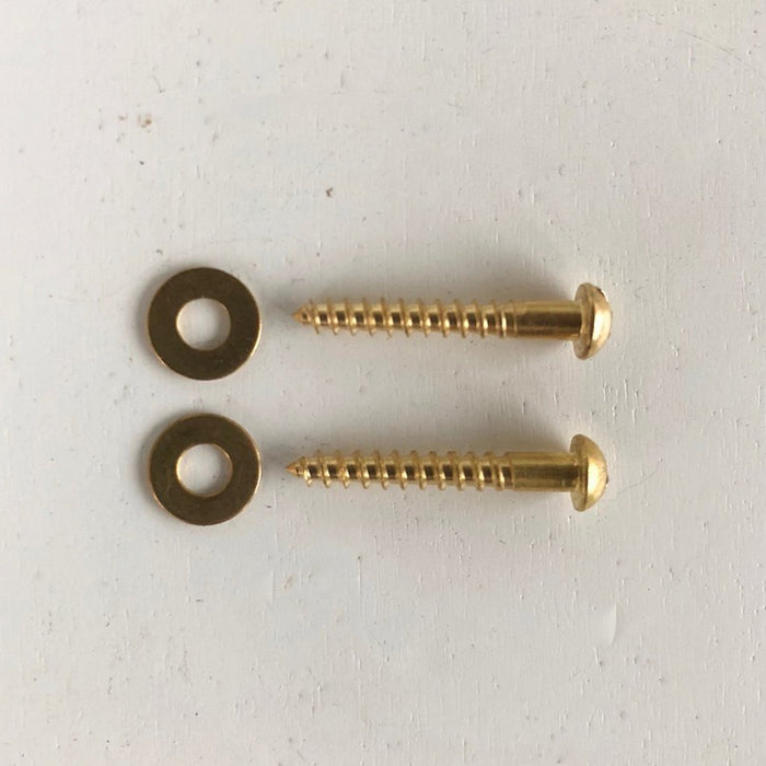 Brass hardware from Lostine