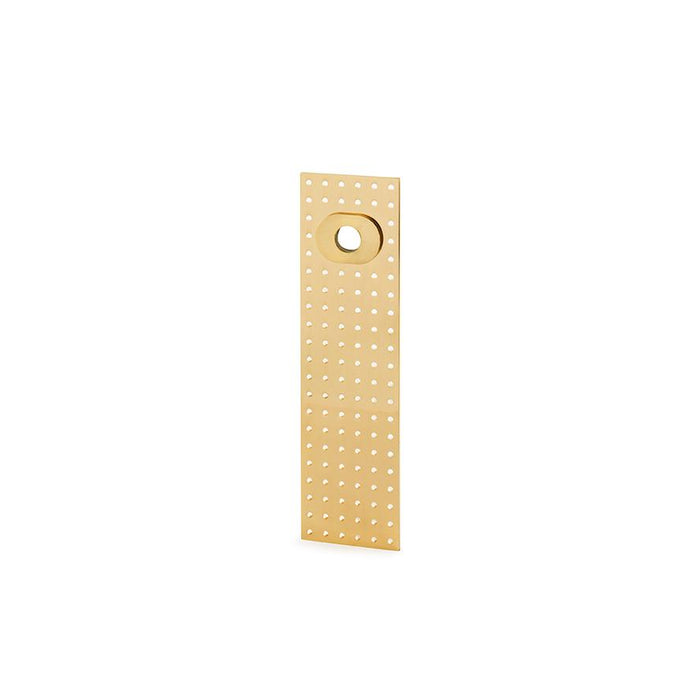 Elegant Stardust Collection Lever Handle in Brass