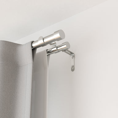 cappa double curtain rod by umbra