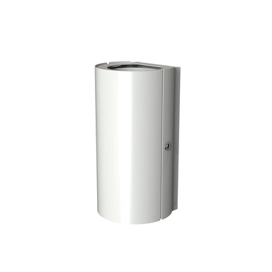Minimal bathroom waste bin