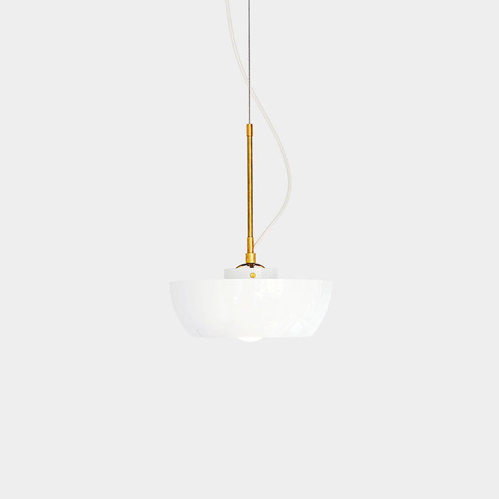 Elegant Well Pendant Light and Planter by Object/Interface