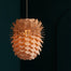 Wooden pendant light by German studio Schneid