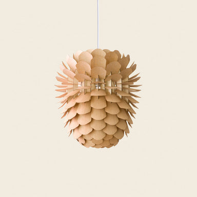 Wooden ceiling pendant
