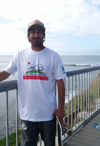 Surf Rats of California men's tee