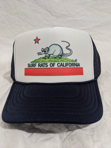 Surf Rats of California Trucker
