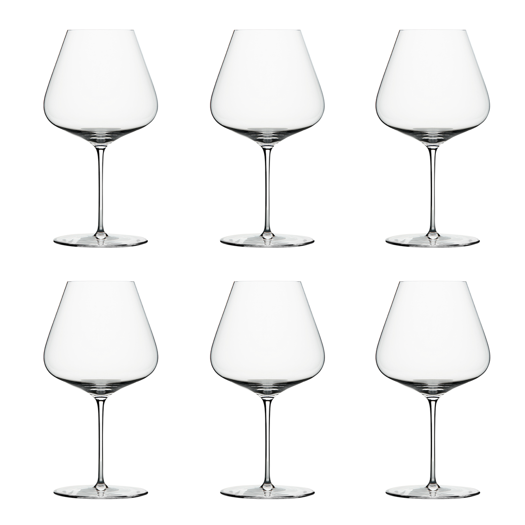 Zalto Denk'Art Burgundy Glass - Boxed Set of 6