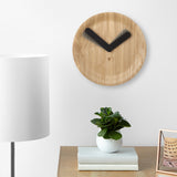Time Flow Clock Natural