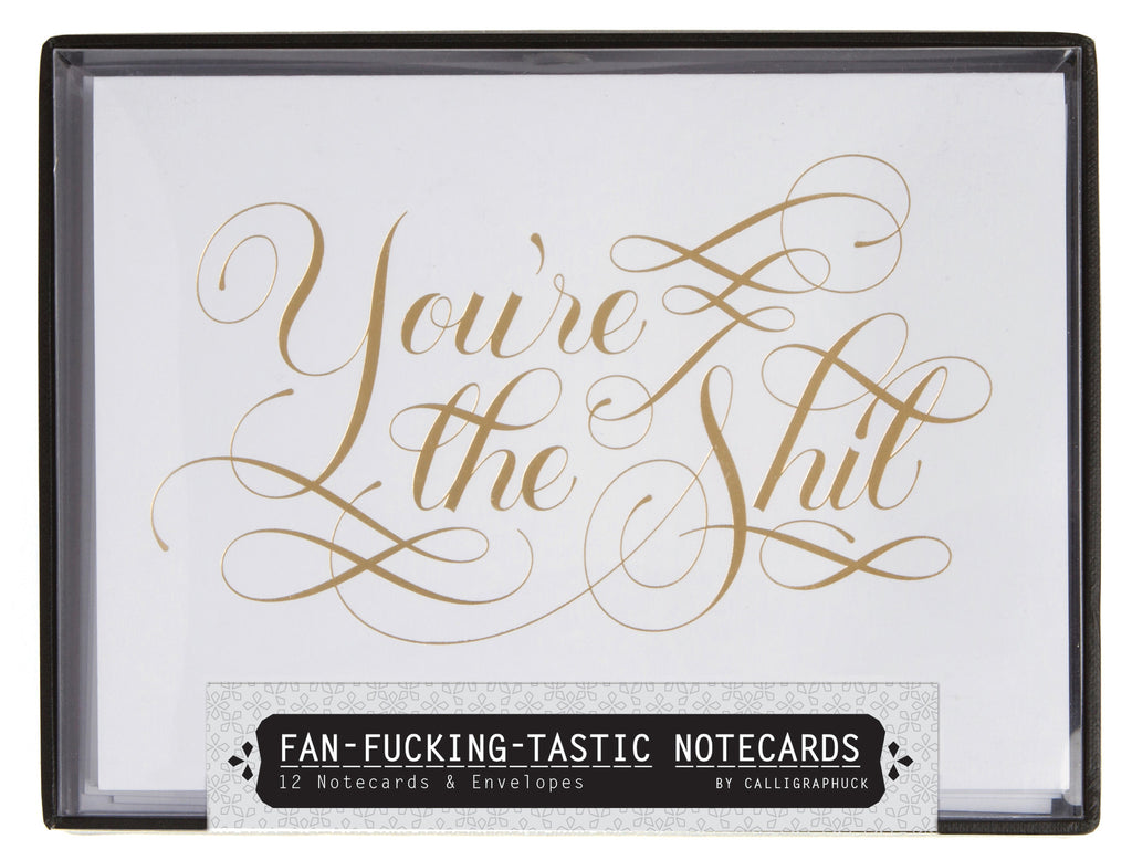 Fan-fucking-tastic Notecards