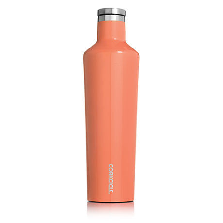 Corkcicle 25oz. Canteen Gloss Peach Echo