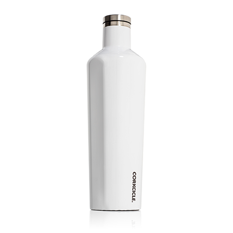 Corkcicle 25oz. Canteen Gloss White