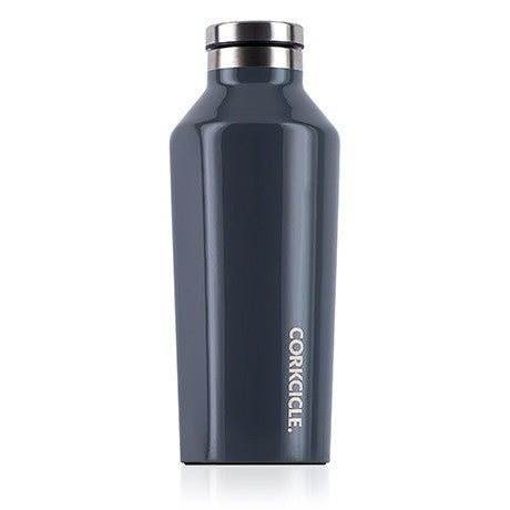 Corkcicle 9oz. Canteen Gloss Graphite