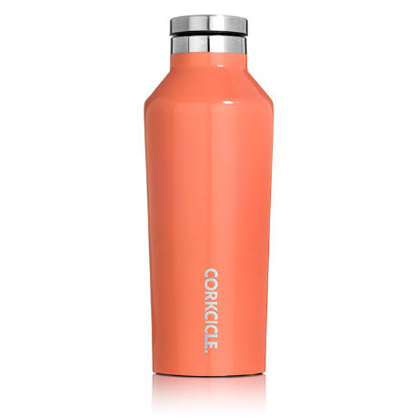 Corkcicle 9oz. Canteen Gloss Gloss Biscay Bay