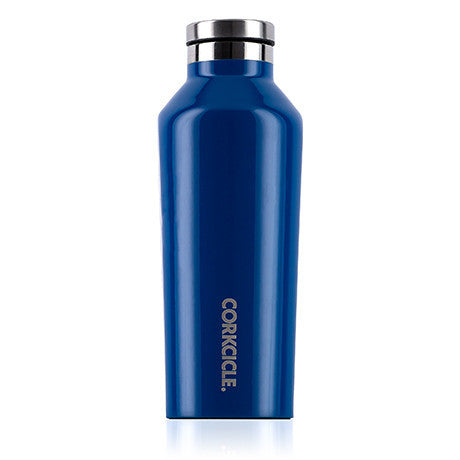 Corkcicle 9oz Canteen Gloss Riviera Blue