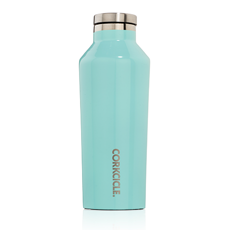 Corkcicle 9oz. Canteen Gloss Turquoise
