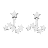 Cosmic Earrings Silver