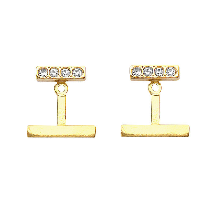 Luna Earrings Gold