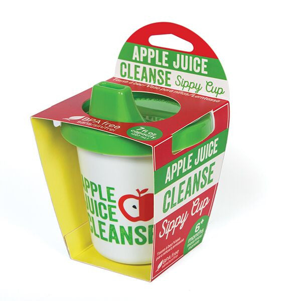 Sippy Cup Apple Juice Cleanse
