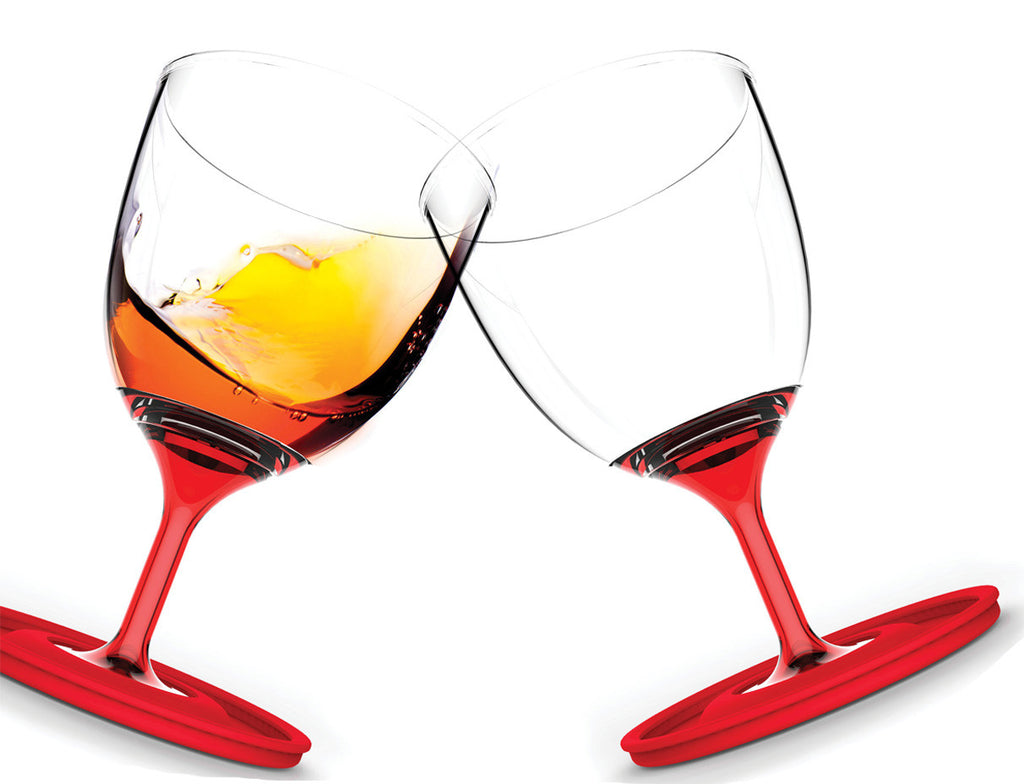 Wine Glasses Portable + Stackable (Set of 2)