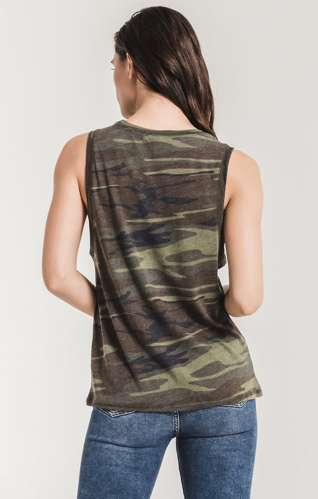 The Camo Muscle Tank