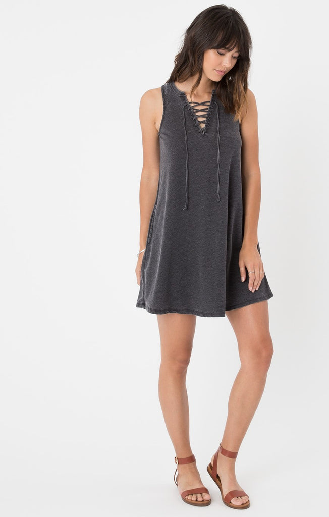 The All Tied Up Dress Black