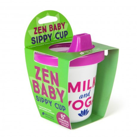 Milk and Yoga Sippy Cup