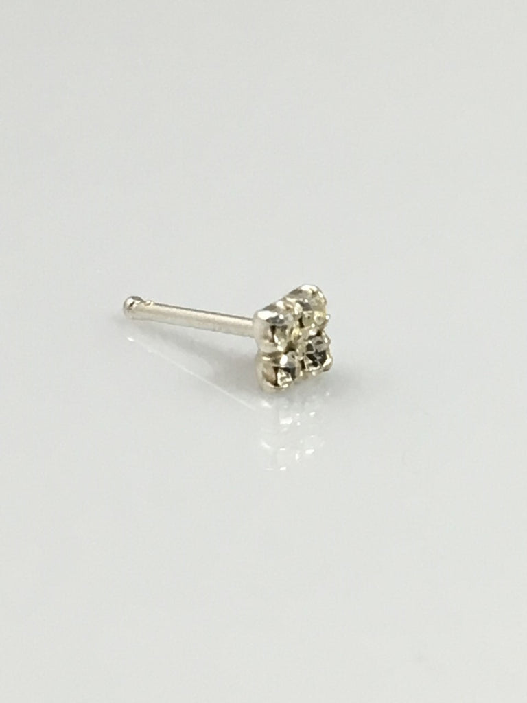 Nose Pin Square Ball End