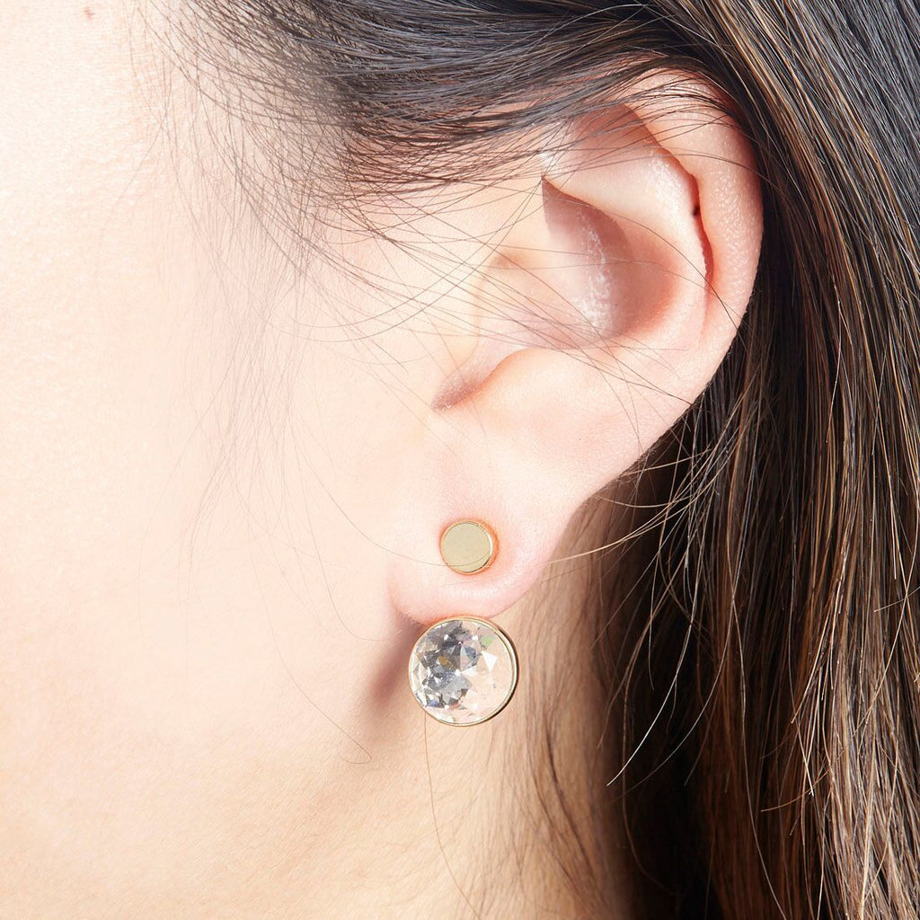 Orb Ear Jacket Silver