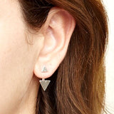Minx Earrings Silver