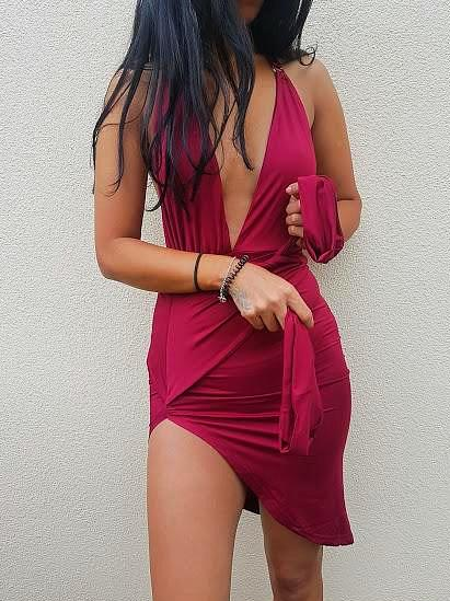 KEAT DRESS - Wine
