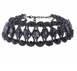 Crystal Choker - Black Diamond