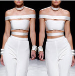 KYLIE Top- White - ROYA COLLECTION
