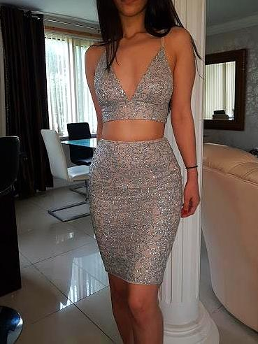 ' SELINTA ' Glitter Two Piece