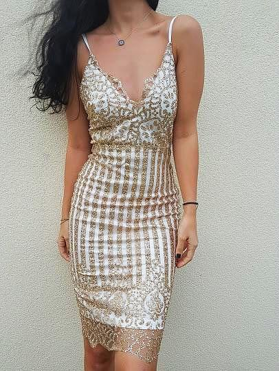 SEVDA Sequin Dress