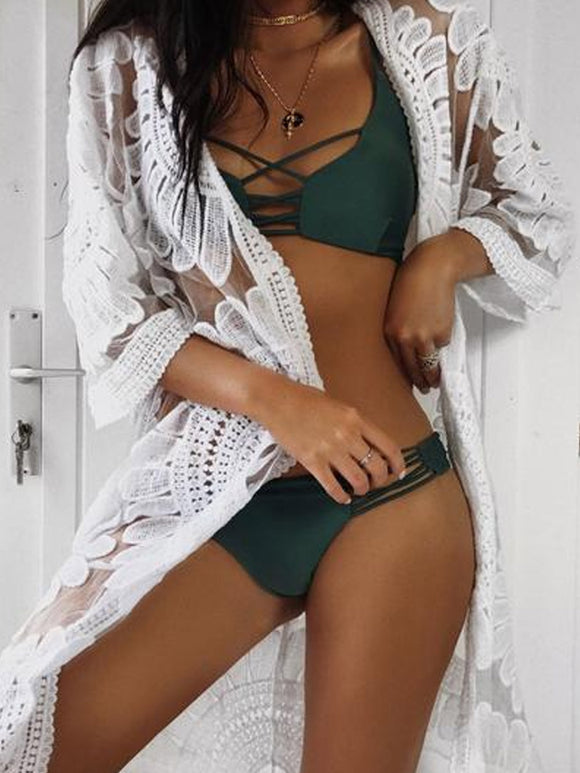AMALFI Bikini - Green - ROYA COLLECTION