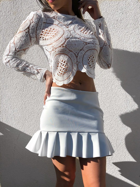 'SAHI' Crochet Crop Top - ROYA COLLECTION