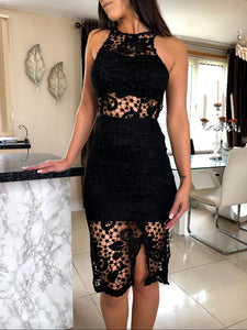 SATIA LACE DRESS - ROYA COLLECTION