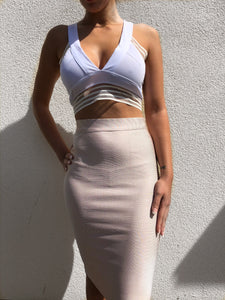 'LOOKOUT POINT' Crop Top - ROYA COLLECTION