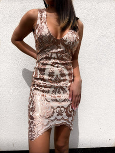 ' MITA ' Sequin Dress - ROYA COLLECTION