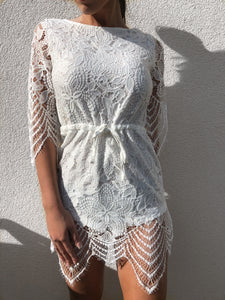 'SWITO' Lace Playsuit - ROYA COLLECTION