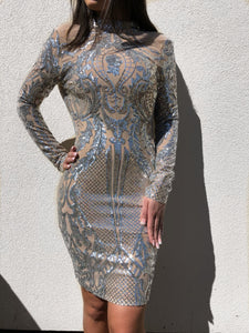 ' LENA ' Sequin Dress - ROYA COLLECTION