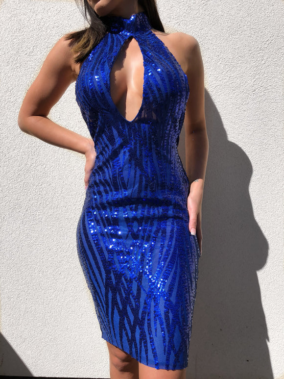 ' LOYAL ' Sequin Dress - ROYA COLLECTION