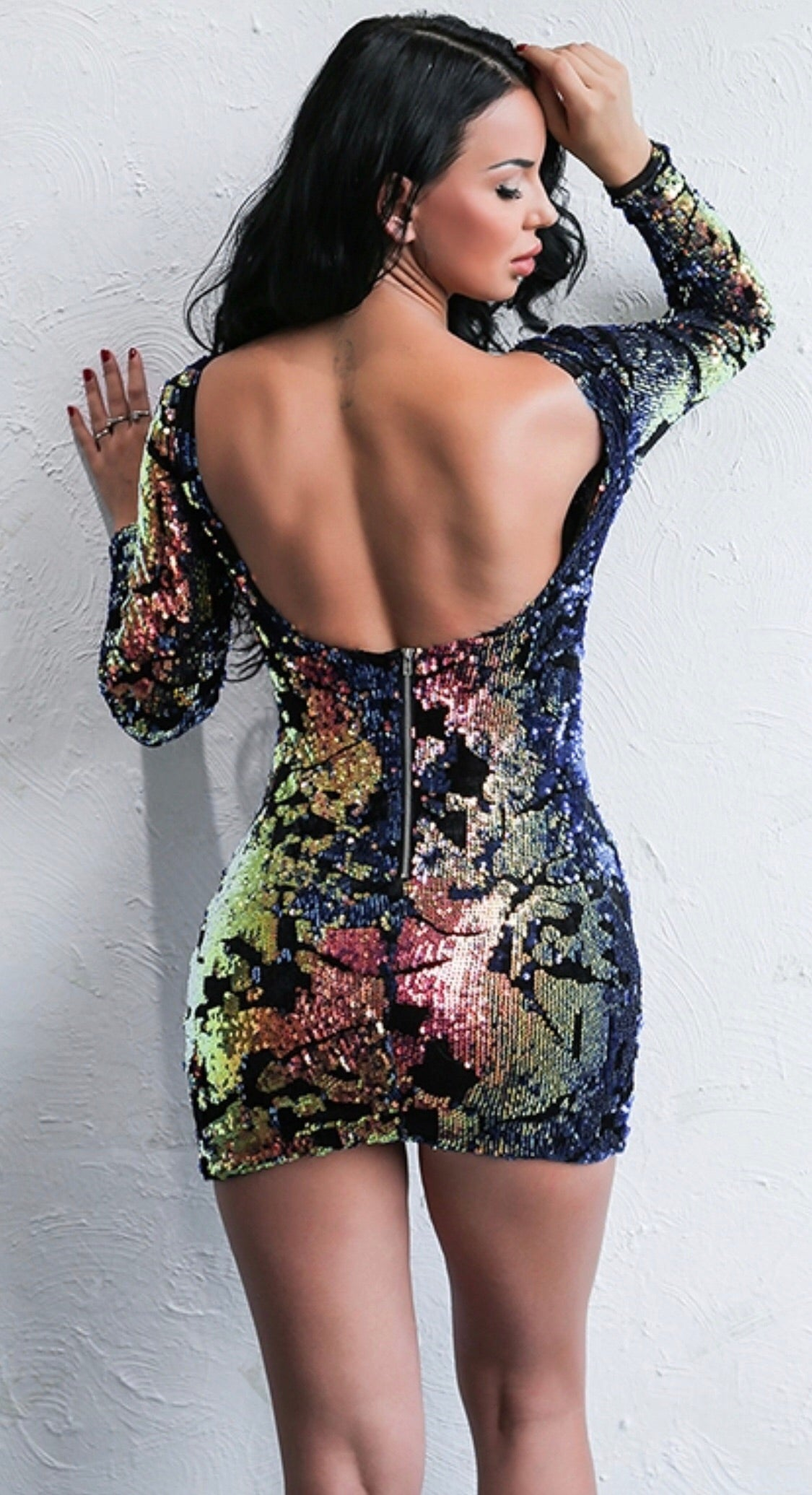 ' SARTIK' Sequin Dress