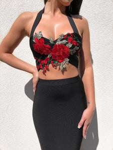 ' THEA ' Bandage Two Piece - ROYA COLLECTION