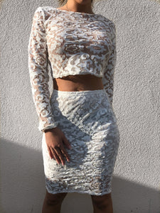 'KASKI' Lace Two Piece - ROYA COLLECTION