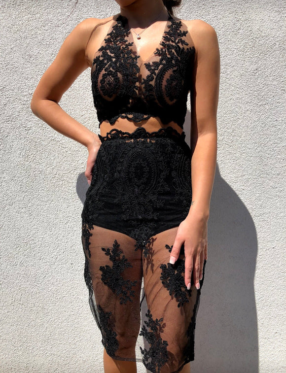 'KADY' Lace Two Piece - ROYA COLLECTION