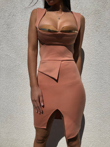 ' LOPEZ' Bodycon Dress - ROYA COLLECTION