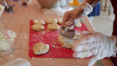 Chantilly Scone Class Baked Up Delicious!