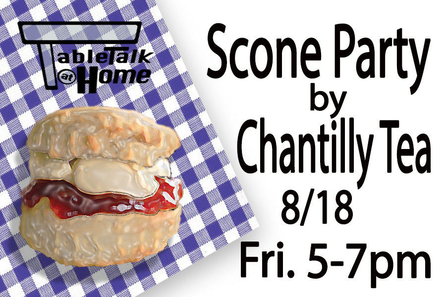 Chantilly Tea Scone Party