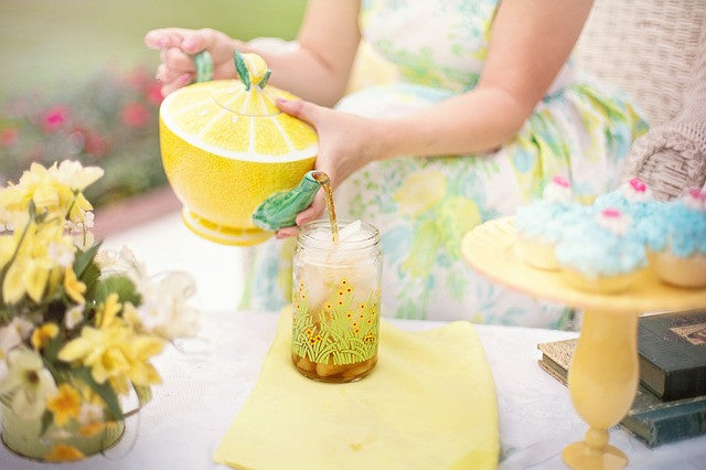 Chantilly Tea Springs into the Season with Iced Tea!