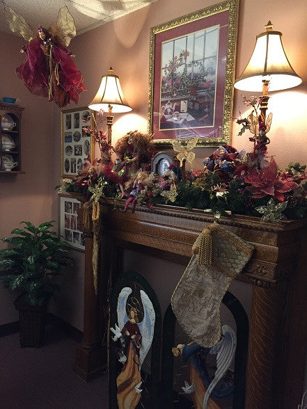 Chantilly Tea Holiday Decorations are up...Come take a peak!